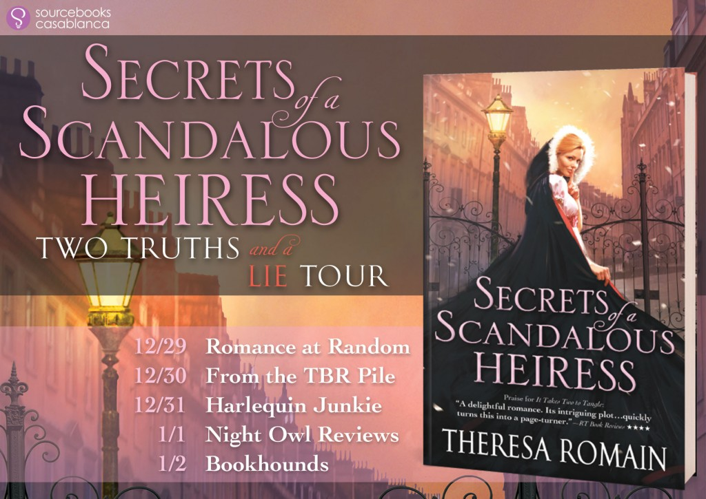 Secrets of a Scandalous Heiress Teaser Tour