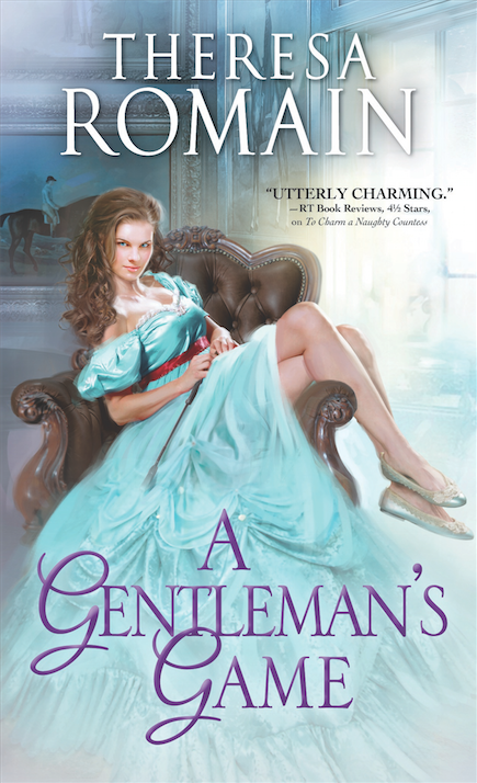 Cover art for Romance of the Turf novel 1, A Gentleman's Game