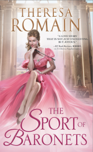 Cover art for Romance of the Turf prequel novella, The Sport of Baronets